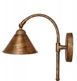 Wall light bronze orientable lamp shade not included 1xE27 350mm H