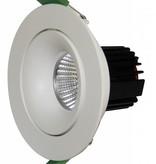 Inbouwspot 85mm/110mm wit/zwart voor GU10/LED module
