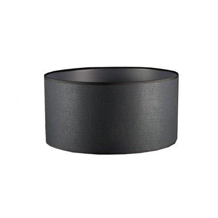 Abat-jour tissu rond 600mm Ø ecru/noir/taupe pour ARM-289/290/291