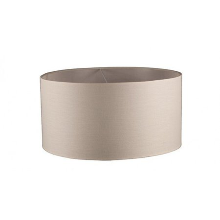 Lamp shade fabric round 400/300 beige/black/taupe for ARM-289/290/291