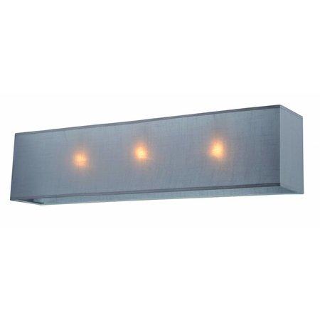 Lampenkap rechthoek stof 1200mm ecru/zwart/taupe voor ARM-301