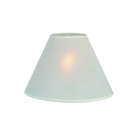 Lamp shade black/ecru/taupe fabric conical 250mm for ARM-304/306