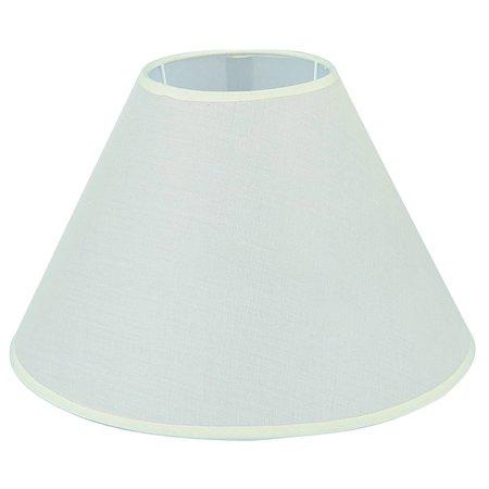 Lampenkap zwart/ecru/taupe stof conisch 300mm voor ARM-304/306