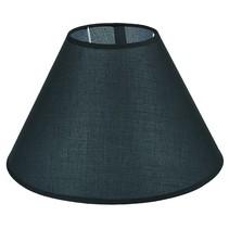 Abat-jour noir/écru/taupe tissu conique 300mm pour ARM-304-306