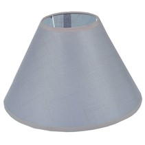 Lamp shade black/ecru/taupe fabric conical 350mm for ARM-305/307