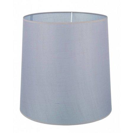 Abat-jour noir/écru/taupe tissu conique 400mm pour ARM-305-307