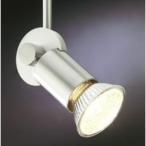 Ceiling light black, white or grey for spot rod 300mm GU10