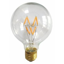Ampoule LED E27 ronde 4W dimmable filament