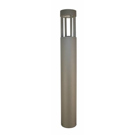 Bollard LED silver, rust or graphite 650mm high 5W