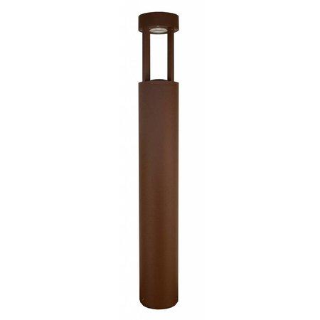 Lampadaire exterieur argent, rouille ou graphite 650mm haut 5W