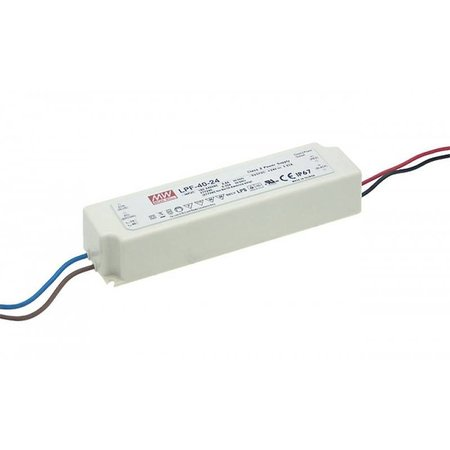 LED driver dimbaar Meanwell 0-40W 24V IP67