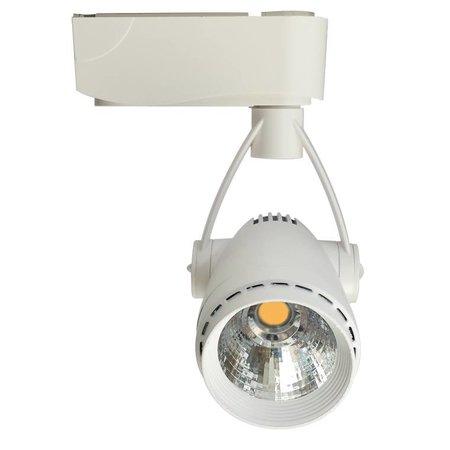 Railverlichting richtbaar wit LED 5W COB design 100mm Ø