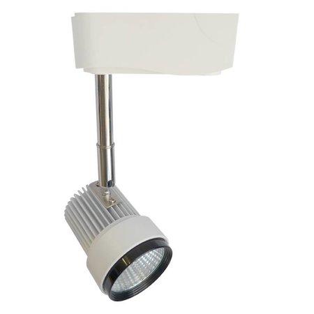 Railverlichting richtbaar wit LED 7W COB design 60mm Ø
