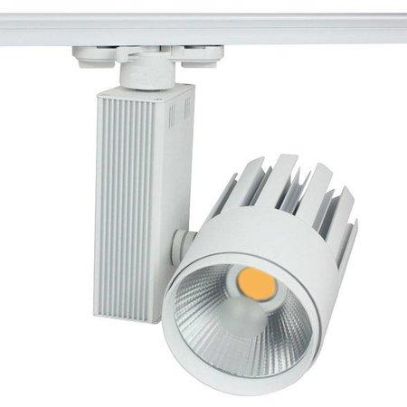 Railverlichting richtbaar wit LED 25W COB design
