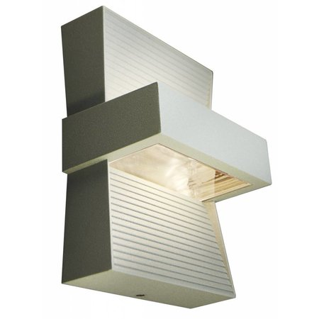 Outdoor wall light LED white, silver or graphite up down 5W