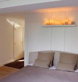 Wandlamp landelijke stijl LED design 10 kaarsen 120cm B