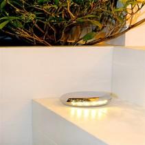 Spot de sol exterieur LED rond 12,5cm 90°, 2x90°, 360°