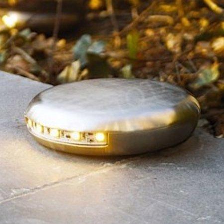 Grondspot LED landelijk 1,5W 12,5cm 90°, 2x90° of 360°