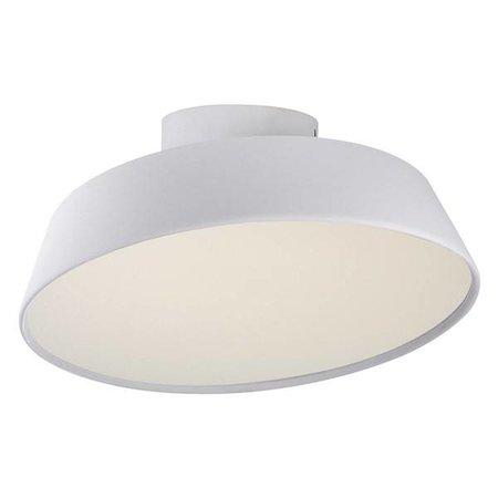 Plafonnier cuisine LED blanc ou gris 12W inclinable 300mm