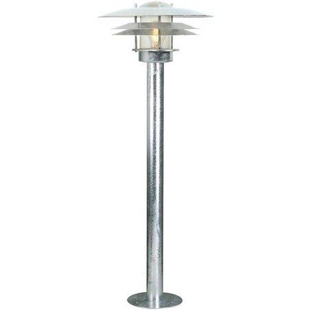 Bollard lighting metal glass IP54 920mm high