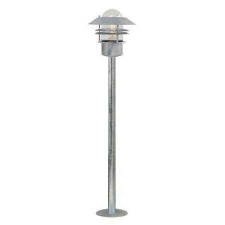 Lampadaire exterieur cuivre, galvanisé ou inox 920mm haut