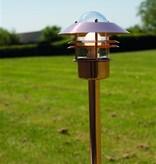 Bollard lighting copper, galvanized or inox IP54 920mm H