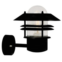 Outdoor wall light copper-black-galvanized-inox E27 230mm