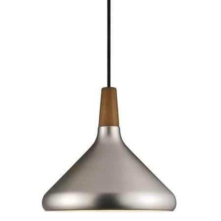 Pendant light grey or copper conic E27 270mm Ø