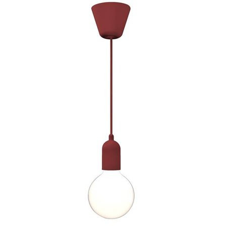 Hanglamp koper-wit-zwart-blauw-groen-rood-paars 2500mm
