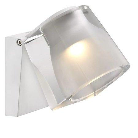 Wandlamp badkamer LED wit of chroom 3W 105mm breed