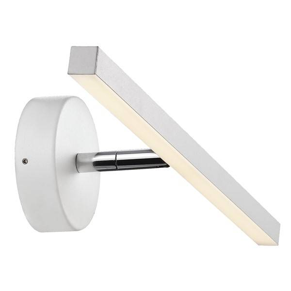 wandlamp badkamer led wit of grijs 5,6w 400mm breed | myplanetled