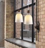 Pendant light glass conic E27 200mm Ø