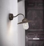 Outdoor wall light black-copper-rust-grey rural E27 280mm