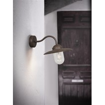 Outdoor wall light black-copper-rust-grey rural E27 280mm
