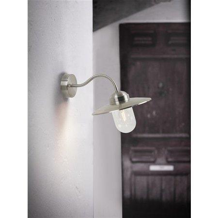 Wandlamp buiten landelijk koper-roest-zwart-grijs E27 280