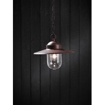 Pendant light chain rustic E27 rust 1600mm high
