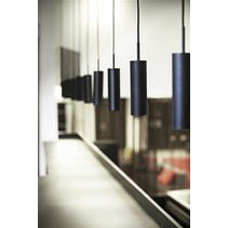 Luminaire suspendu design blanc ou noir orientable 270mm
