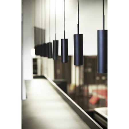 Pendant light design black or white orientable 270mm high