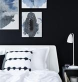 Desk lamp LED white-black-grey-brushed steel GU10 3W 630