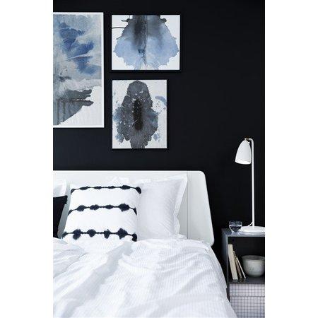 Bureaulamp LED wit-zwart-grijs-geborsteld staal 3W 630