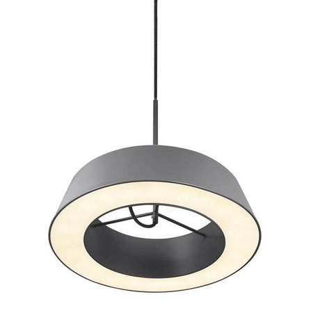 Hanglamp LED wit of grijs rond 14,5W 360mm diameter