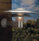 Wandlamp buiten industrieel koper of grijs E27 IP44 390mm