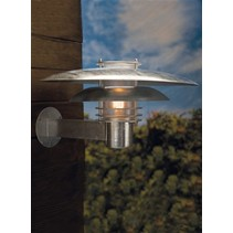Applique murale exterieure cuivre ou grise E27 IP44 390mm