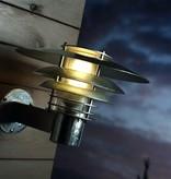 Applique murale exterieure cuivre, galvanisé E27 IP54 310