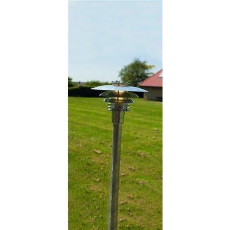 Lampadaire exterieur cuivre ou galvanisé E27 IP54 1130mm
