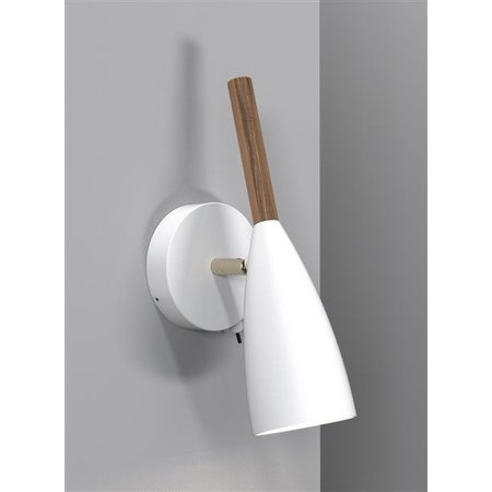 Wall light design white, black or grey GU10 260mm high