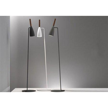 Staande lamp design zwart,wit,grijs richtbaar GU10 1500mm