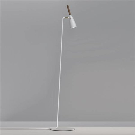 Floor lamp design black, white or grey GU10 orientable 1500mm high