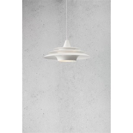 Hanglamp rond UFO wit E27 400mm diameter