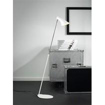 Staande lamp design zwart of wit E14 740-1290mm hoog